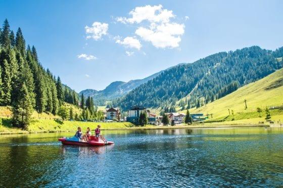magic mountains Zauchensee Sommer Familienurlaub