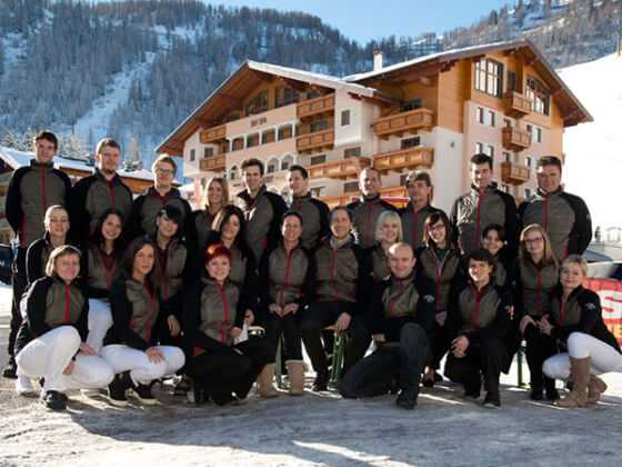 Team im Hotel Salzburger Hof, Zauchensee