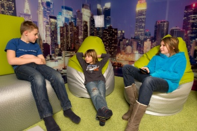 4 Sterne Superior Hotel Salzburger Hof - Teens-Chillout-Lounge