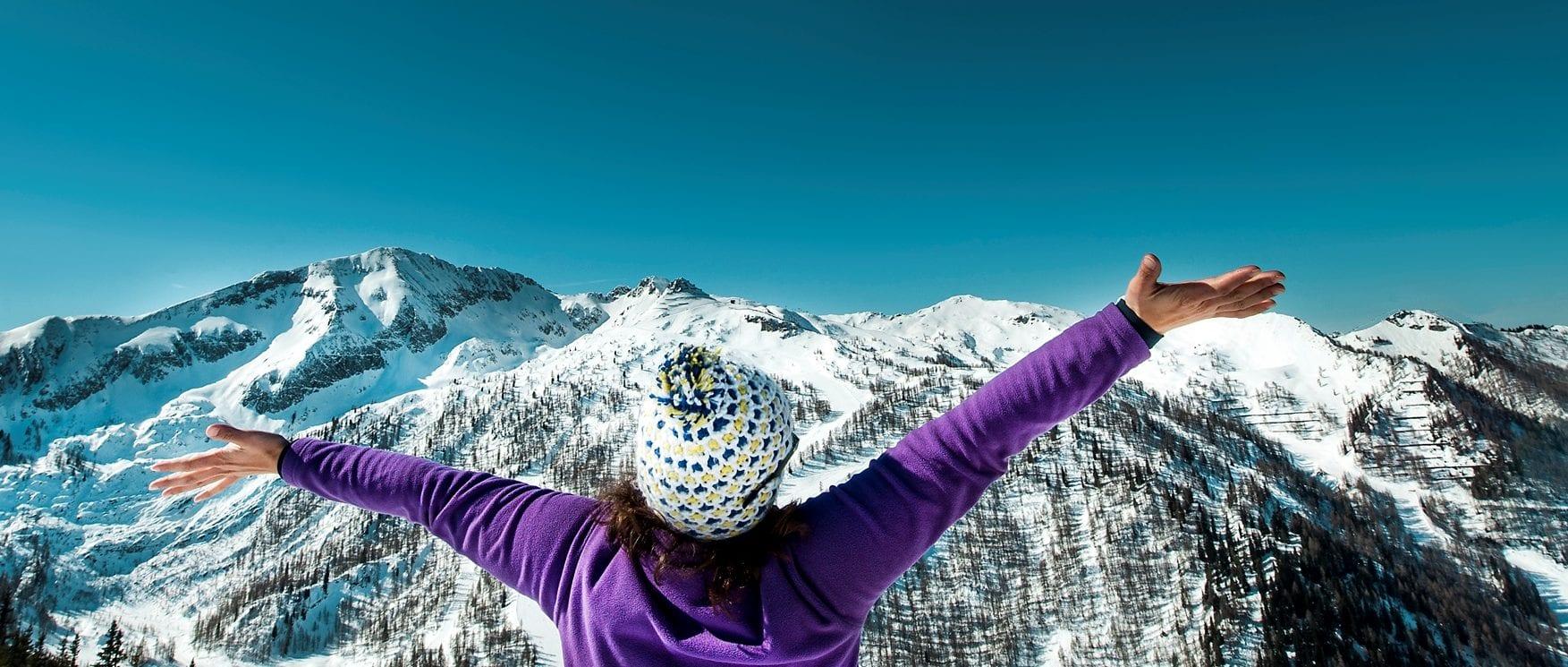 Zauchensee Skiparadies Aussicht-Wetter-Freiheit-Salzburger Berge-Salzburger Land