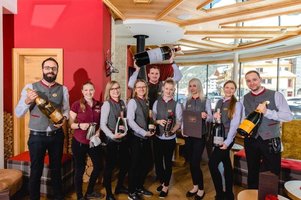 Service - Team im Hotel Salzburger Hof in Zauchensee