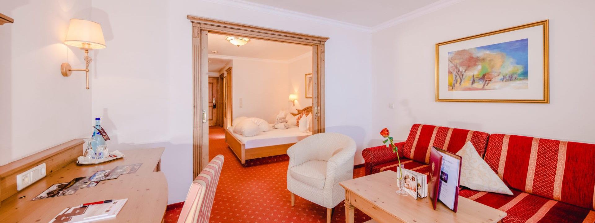 Buchungsinformationen im 4 Sterne Superior Hotel Salzburger Hof in Zauchensee