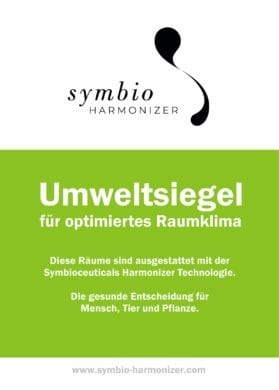 Umweltsiegel neu-DE-Symbio Harmonizer Comfort - Gesundheit - gesund urlauben