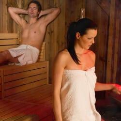 Almsauna-Landschaft & Wellness im Hotel Salzburger-Hof Zauchensee