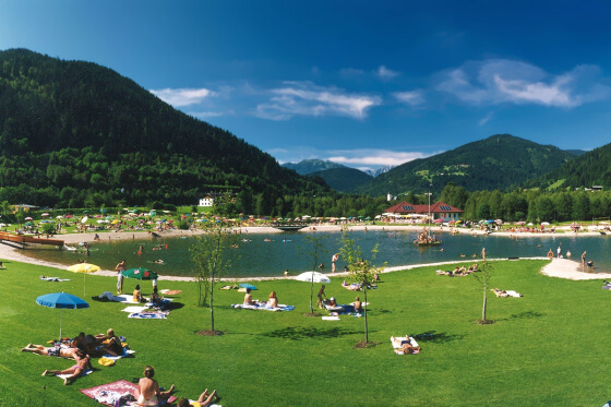 Badesee Eben - Ausflugsziele vom Salzburger Hof aus