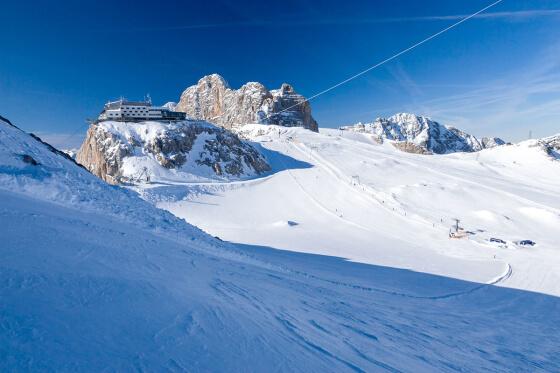Dachstein Gletscher - Ausflugsziele vom Salzburger Hof aus