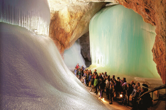 Eisriesenwelt Werfen - Ausflugsziele vom Salzburger Hof aus