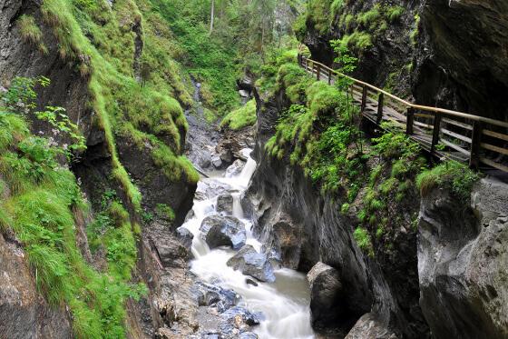 Kitzlochklamm - Ausflugsziele vom Salzburger Hof aus