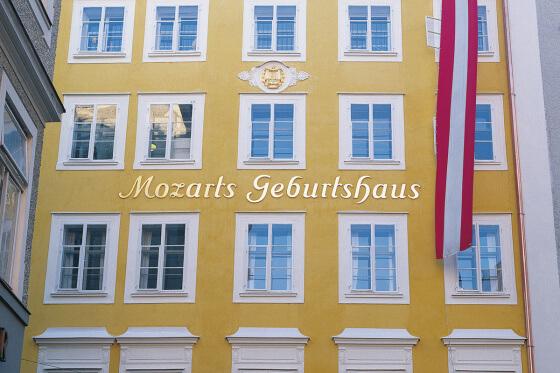 Mozart-Geburtshaus - Ausflugsziele vom Salzburger Hof aus