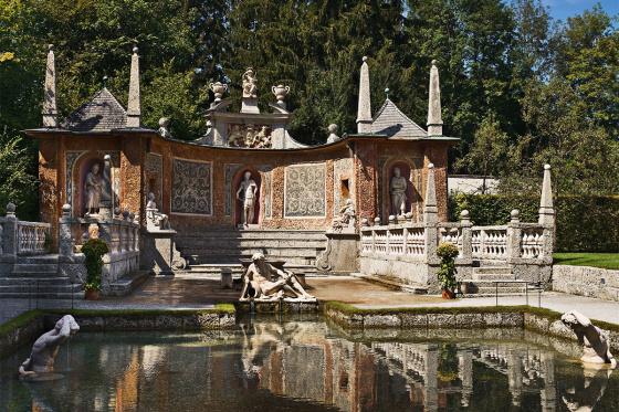 Ausflugsziele - Salzburger Land - Schloss Hellbrunn - Salzburger Hof Zauchensee