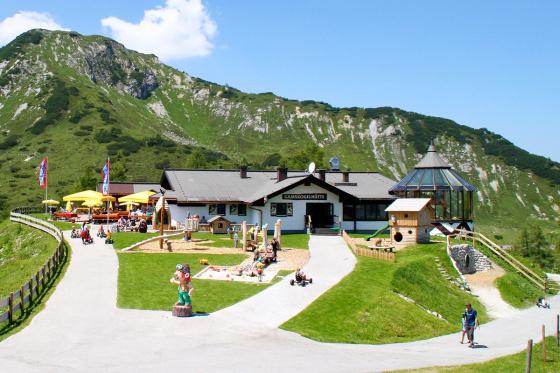 Ausflugsziele - Salzburger Land - Zauchensee - Gamskogelhütte - Salzburger Hof