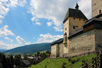 Cabrio-Routen Burg Mauterndorf