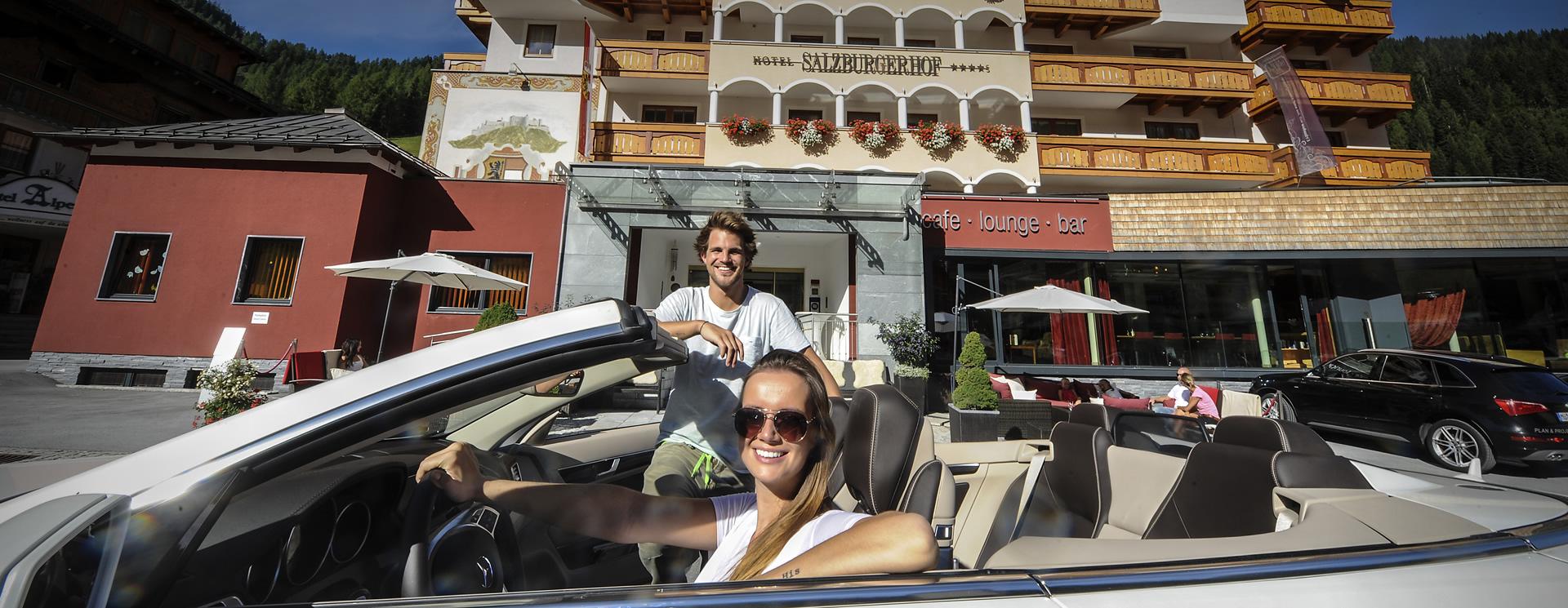 Cabrio - Hotel Zauchensee Salzburger Hof