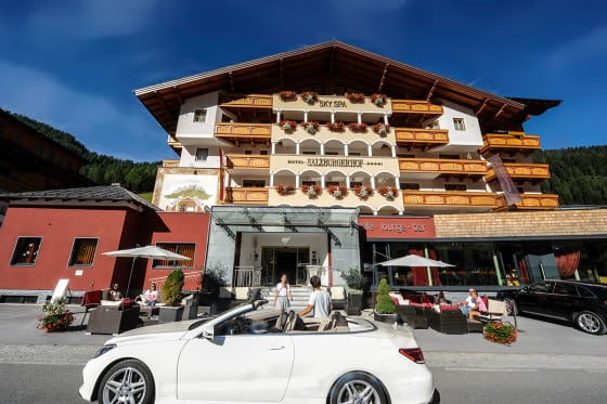 4 Sterne Superior Hotel Salzburger Hof - Cabrio-Hotel