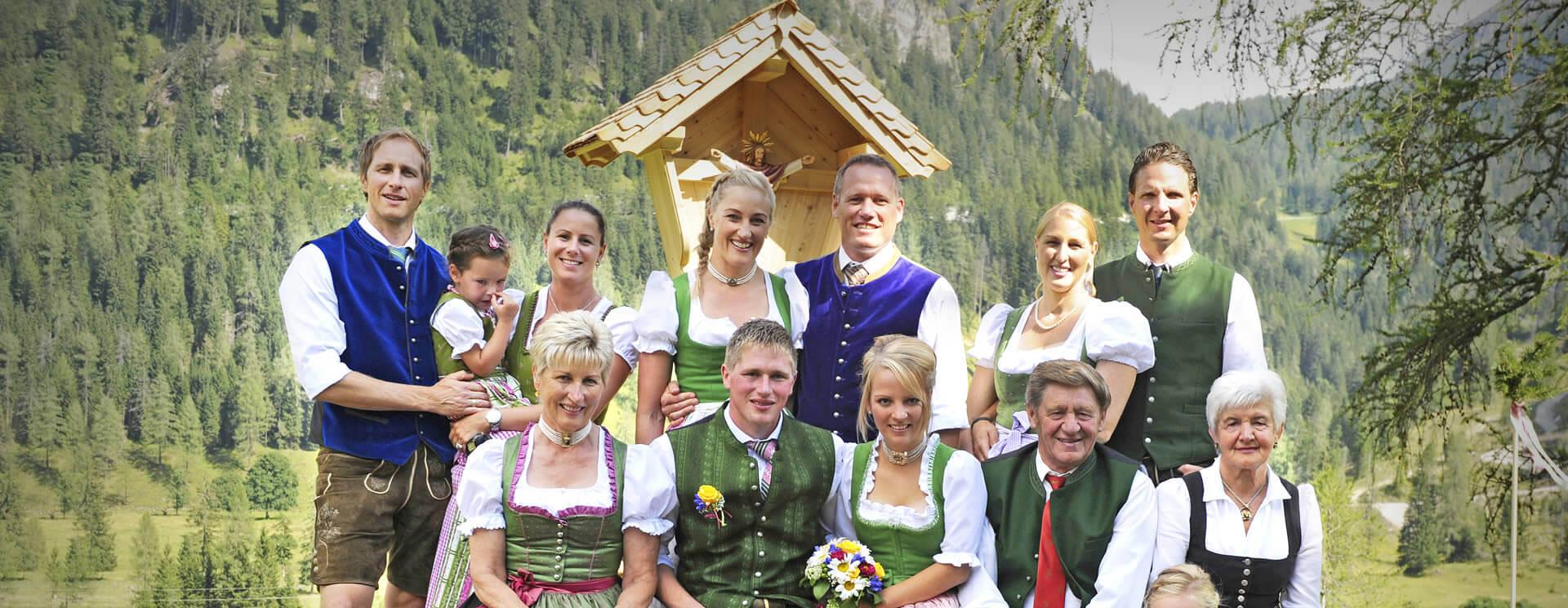 Familie Mayrhofer - Familienbetriebe in Zauchensee und Radstadt