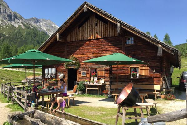 Familienhotel Salzburger Hof in Zauchensee, Tauernkarleitn Alm