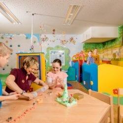 Kinderbetreuung - Familienhotel in Zauchensee