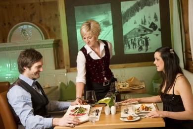 Restaurants - Hotel Salzburger Hof in Zauchensee