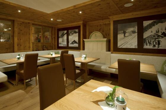 Pionier-Zirbenstüberl im Hotel Salzburger Hof