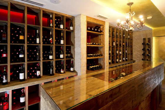 Weinkeller im Salzburger Hof