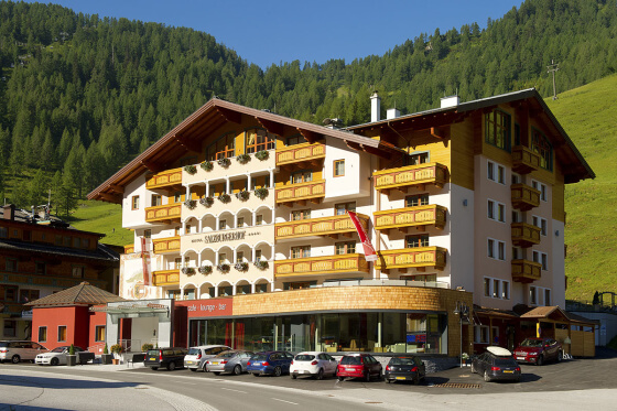 4 Sterne Superior Hotel Salzburger Hof in Zauchensee