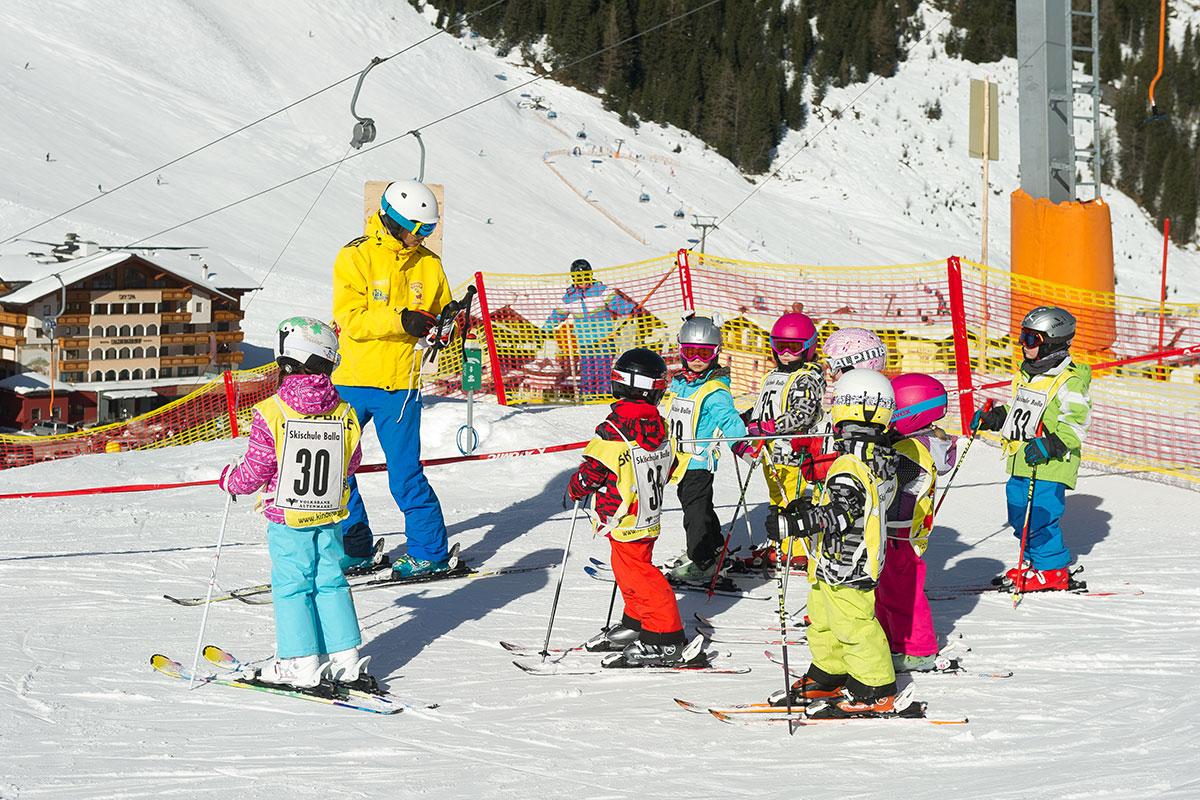 Kinderskischule Balla in Zauchensee - gegenüber Hotel Salzburger Hof