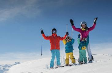 Skifahren & Snowboarden im Skigebiet Zauchensee - Flachauwinkl, Ski amadé