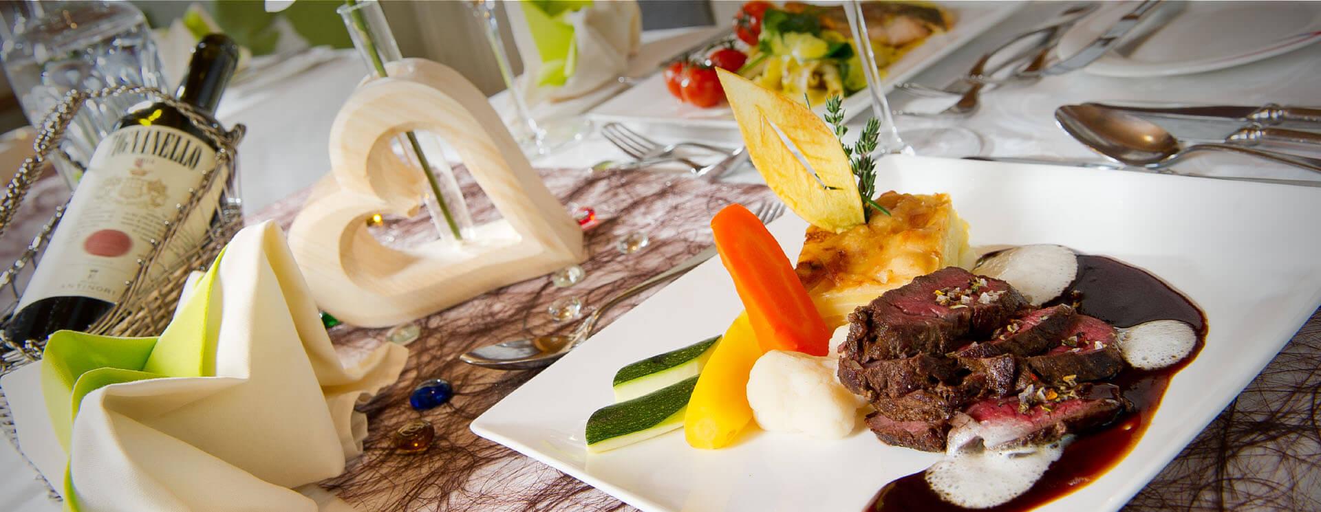Kulinarik & Wein und kulinarischer Genuss im Salzburgerhof Zauchensee