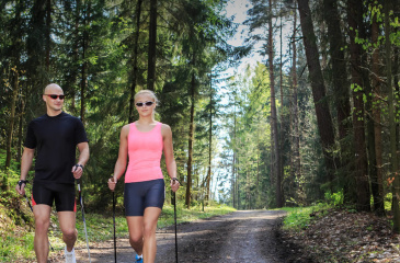 Nordic Walking in Zauchensee und Altenmarkt