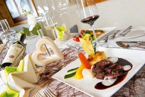 Kulinarik im Hotel Salzburger Hof in Zauchensee
