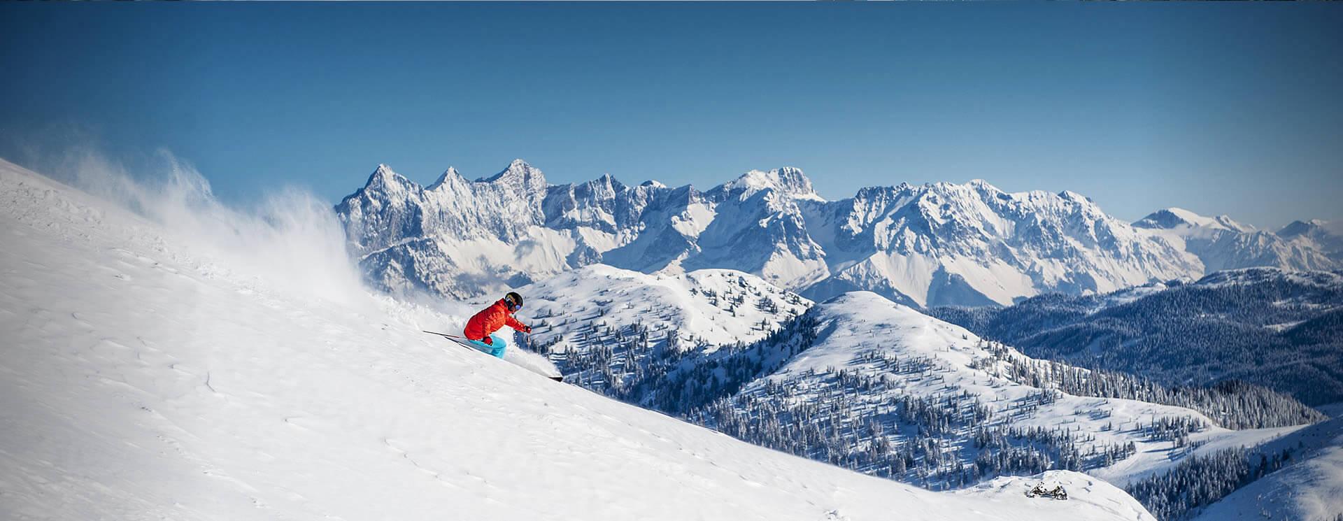 Skifahren & Snowboarden im Skiverbund Ski amadé