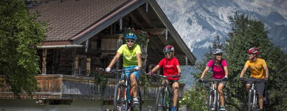 Sommeraktivitäten Radfahren im Salzburger Land