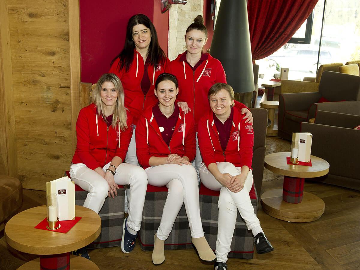 Etage - Team im Hotel Salzburger Hof in Zauchensee
