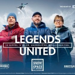 the heart of ski amadé - legends united
