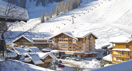 Lage direkt an der Piste im Skiverbund Ski amadé