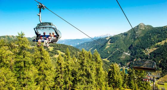 Toplage im Sommerurlaub - Zauchensee mitten in den Bergen