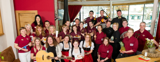 Team, Gastgeber & Urlaubs-Spezialisten im Hotel Salzburger Hof, Zauchensee