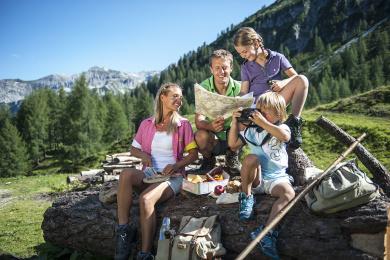 Wanderurlaub in Zauchensee und Altenmarkt