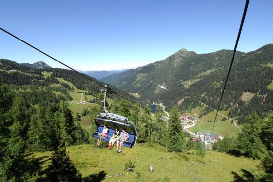 Genusswandern mit der Seilbahn - Wandern Salzburger Land