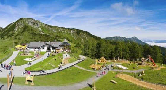 Sommerurlaub in Zauchensee, Toplage, Gamskogel